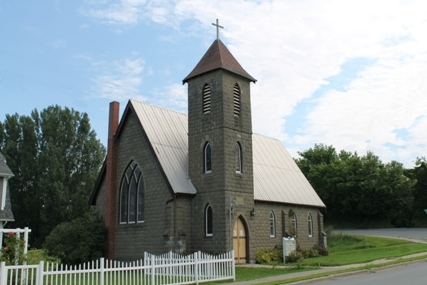 Holy Trinity Anglican Church, Hartland, NB